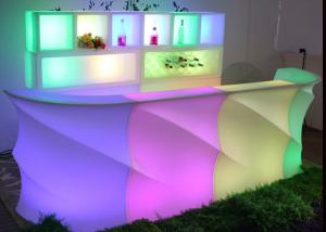 China Used Nightclub LED Furniture Bar Counter / Led Furniture with Battery on sale