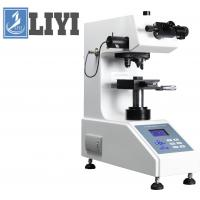 120mm Throat Depth Hardness Testing Machine , Digital / Micro Turret  Vickers Hardness Tester