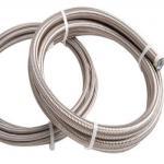 SAE 100R14の高圧ステンレス鋼ワイヤー ブレードの油圧テフロン耐火性のホース