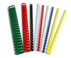 China plastic binding combs plasting binding rings on sale