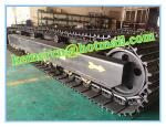50 ton steel track undercarriage/crawler undercarriage/ drilling rig track undercarriage