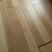 China 8mm 7mm smoked HDF wood waterproof euro click laminate flooring on sale