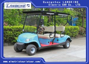 China Solar Panel Roof  Electric Club Car  / 4 Passenger Golf Cart With 48V Battery CE Certificated on sale