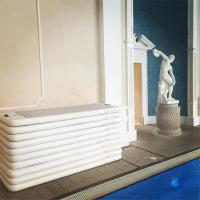 China Digital / Silk Printed Pool Workout Mat , Aqua Fitness Mat Long Lifespan on sale