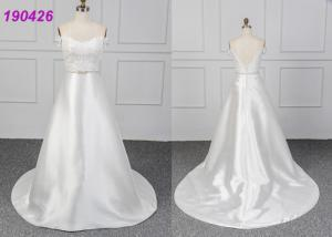 China Satin Bridal Lace Mermaid Wedding Dress Gowns That Fit Your Style And Budget on sale