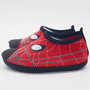 Quality Convenient Kids Aqua Water Shoes Spider Man Cartoo Pattern Size 21 - 33 for sale