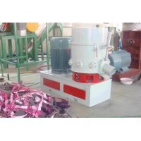 China Energy Saving PE Plastic Agglomerator Machine , Stainless Steel Plastic Extruding Machine on sale