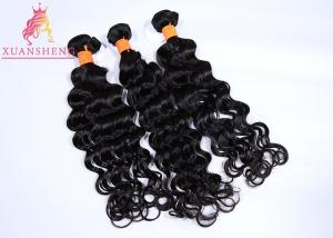 China 100 Unprocessed Brazilian Human Hair Extensions , Weave Loose Wave Virgin Hair on sale