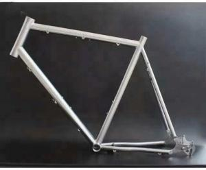 China Grade1 Titanium Based Alloys Hot Forging High Strength For Bicycle Parts on sale