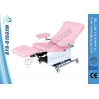 Movable Medical Electric Dialysis Blood Collection Dialysis Chairs With Wheels