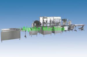 China Automatic Spray Paint Aerosol Filling Machine / Aerosol Spray Paint Filling on sale
