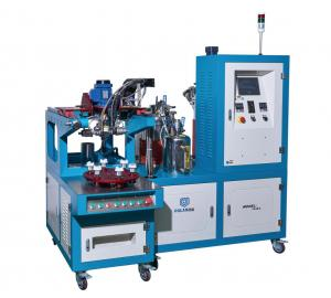 China End Cap Gluing Car Air Filter Making Machine 1800 × 1400 × 1700mm Size 1 Year Warranty on sale