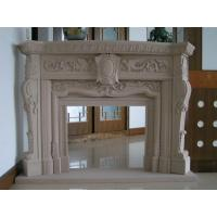 Delicate Carved Fireplace, Indoor Fireplace Mental for Decoration