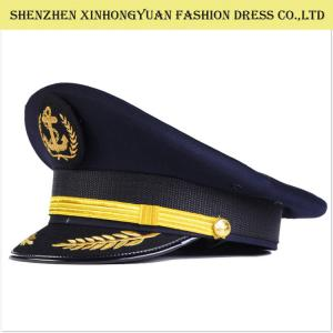 Quality Railway Military Hats And Caps   Military Style Hats For Men Army  Peaked Cap for ... d7876b7c780