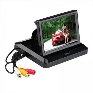 China YUEXU 5 Car Rear view System Foldable TFT Color LCD Car Reverse Rearview 5 inch 16:9  Car Security Monitor on sale