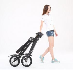 China Fashion 12 Inch Mini Electric Folding Bike Alumium Alloy Frame For  Office Worker on sale