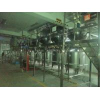 China Bottled Orange Apple Fruit Juice Production Line SUS304 Or SUS316 Material on sale