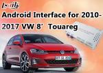 "Caja auto androide de la navegación del interfaz de la cámara reversa hecha para VW Touareg 8"" sistema RNS850"