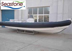 28 Foot Bottom Inflatable Boats Stainless Steel Protection 35 Knots