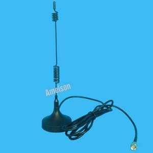 China Omni Directonal Magnetic Mount Mobile Antenna 433 MHz 3 DBi Anti - Interference on sale