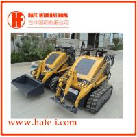 Small in size   Mini skid steer loader SSL-C300A USA Briggs&Stratton engine(23hp), bucket 0.15m3, track with bucket