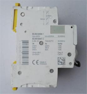 SCHNEIDER ELECTRIC A9F74203 IC60N MINIATURE CIRCUIT BREAKER 2P 3A C CURVE