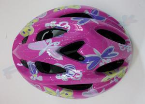 China EPS Foam Inline Skating Helmets / Adult Cycling Bicycle Helmets for Girls and Boys on sale