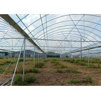 China Greenhouse Round ERW Steel Pipe , Hot Dip Galvanized Steel Pipe Good Reliability on sale
