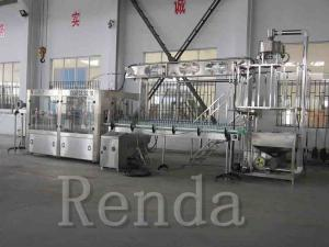 China Customized Beer Bottle Filling Machine Beer Bottle Capper Equipment With High Speed on sale