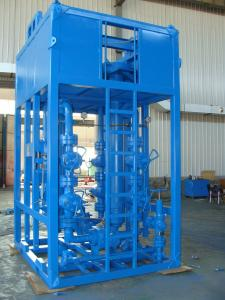China 10000 Psi Surface Test Tree Dual Port Sand Filter Skid Mounted API 6A Standard on sale