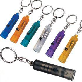 China Customizable ABS 15000mcd AAA LED Turbo Flashlight Keyring for outdoor on sale
