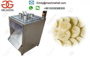 China Easy Operate Banana Plantain Chip Cutting Manufacturers/Stainless Steel Machine For Cutting Banana Chips High Efficiency on sale