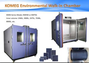 China LCD Display Walk-in Chamber Auto Cast Test Equipment /  Industrial Aging Test Burn In Room on sale