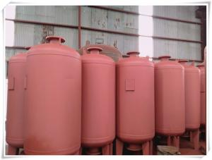 China EPDM Rubber Membrane Diaphragm Water Expansion Tank Vertical Orientation on sale