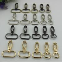 China Bag parts various color 4 size metal swivel eye dog leash snap hook wholesales on sale