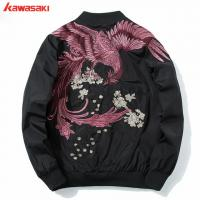 China wholesale nylon baseball jacket 100% polyester waterproof running jackets on sale