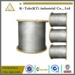steel wire rope for lifts or elevators,8x19+FC (SISAL CORE)ungalvanized