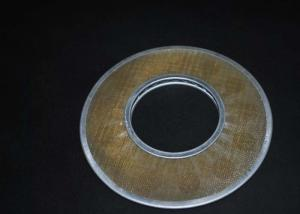 China Durable Round Stainless Steel Filter Disc , Custom Micron Mesh Filter on sale