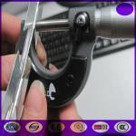 10-15 l'électro de /roll de mètre a galvanisé le barbelé croisé en accordéon de rasoir