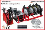 Rothenberger Hydraulic HDPE pipe butt fusion welding machine 90mm to 315mm  SHD315/90
