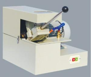 China Manual Abrasive Cutter Cutting diameter Ø30mm Metallographic Equipment Abrasive Cutting Machine With Cooling System on sale