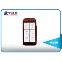 Mobile Point Of Sale Devices Android POS Terminal Barcode Scanner Handheld Pos With Printer