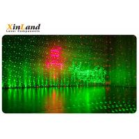 Mini Portable Laser Party Light , Outdoor Christmas Laser Lights Aluminum Material