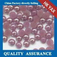 F0409 costume pearl jewelry,shinning rhinestone,hotfix appliques
