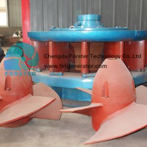 China 100 Kw Hydropower Mini Kaplan Turbina , Mini Hydro Generator 1500 R / Min on sale