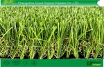 China C Shaped Outdoor Artificial Grass For Landscape  Patio SGS 40mm dtex12000 wholesale