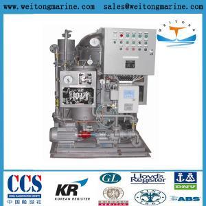 China Marine Oily Water Separator 15PPM Bilge Water Separator on sale