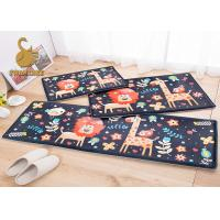 Short Plush Fabric Kids Floor Rugs Soft Warm Baby Crawling Mat Door Mat