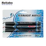 Reliabo Black Permanent Marker Pen Non Removable Classical Deign