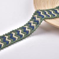 China 5.5cm Embroidery Lace Trim on sale